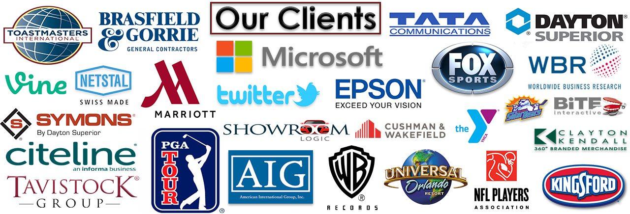 Video Production Orlando Florida - Client List 2015