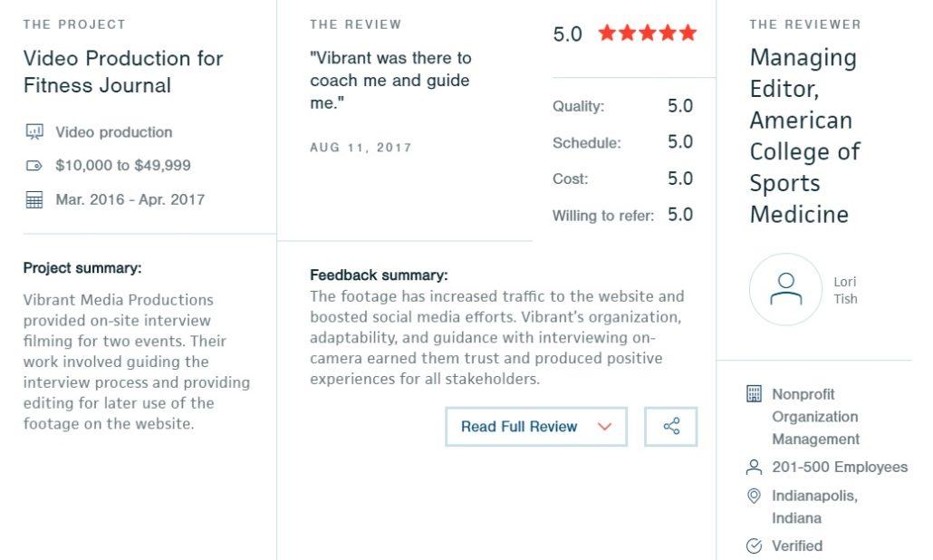 Videography Company Reviews Orlando