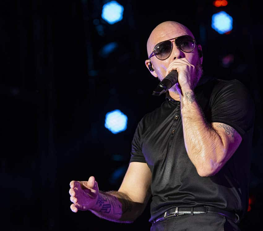 Pitbull Live Event Coverage Orlando Florida
