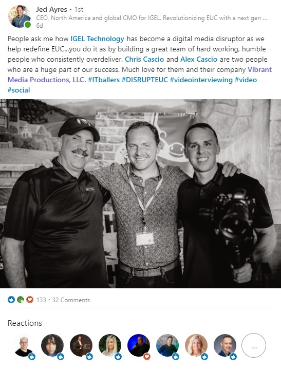 Vibrant Media Productions Orlando Video Production Testimonial