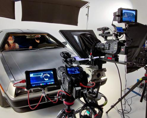 Orlando Video Production Company Automotive Project in Studio