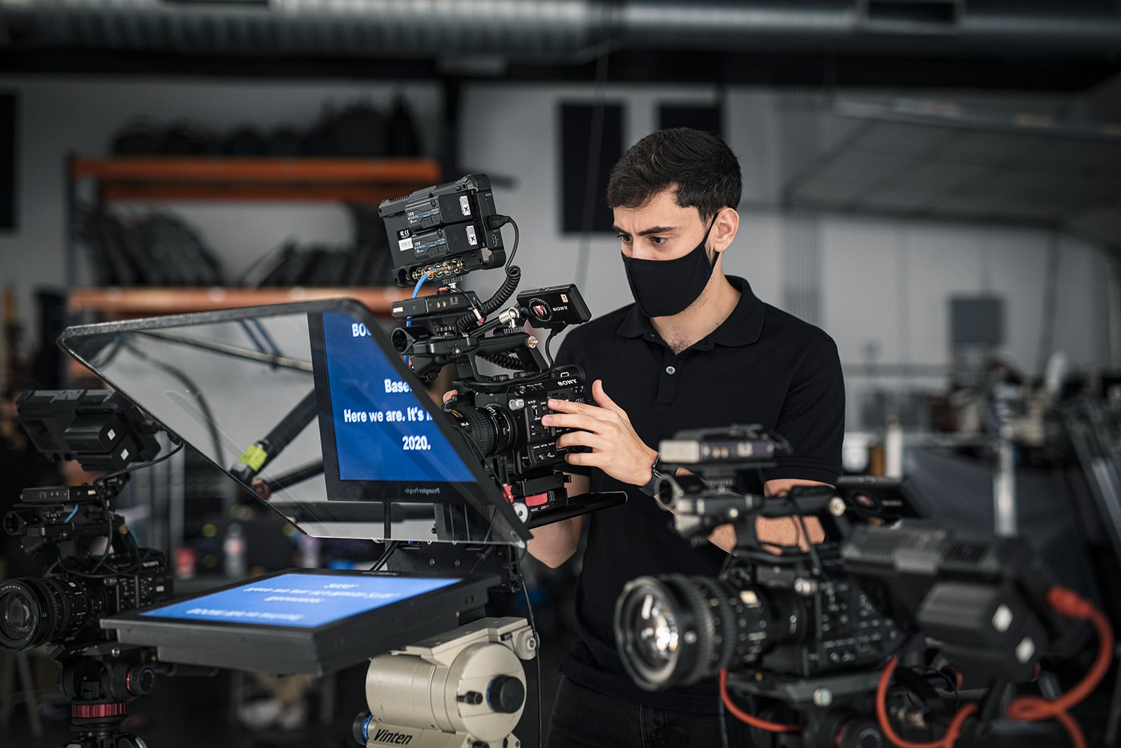 Delorean Shoot - Studio Video Production Florida