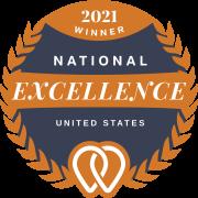 Upcity - National Excellence 2021 Award Winner